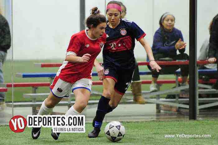 La Juve-United-AKD Premier Academy Soccer League-mujeres futbolistas