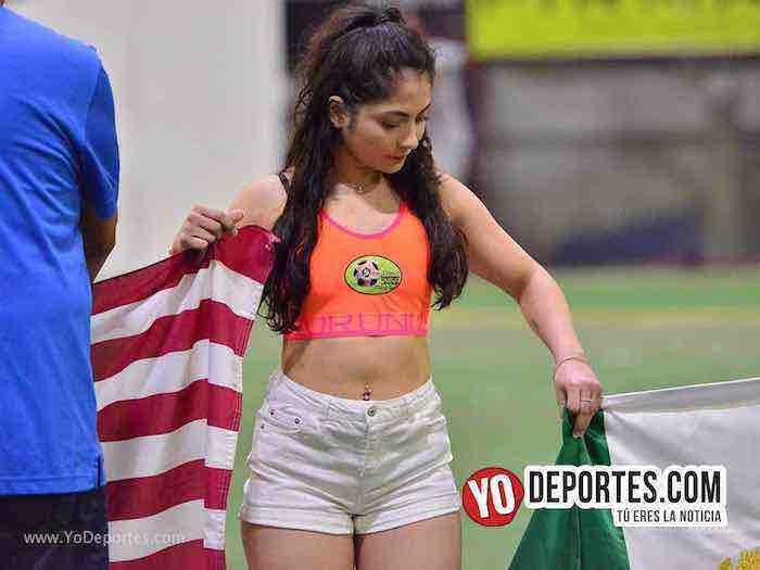 Alexis Martinez modelo edecan-Liga 5 de Mayo Chicago