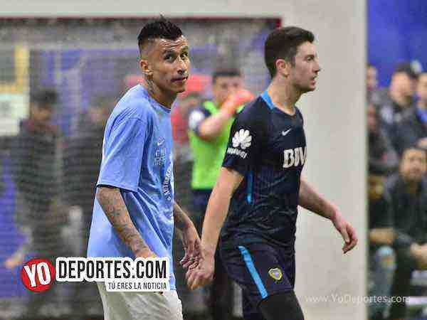 Chicago Soccer a la final con goles de oro de El Negro Sandoval