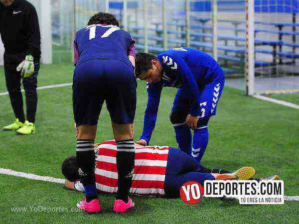Nacional contra Morelos Jr semifinal de recopa de la Liga Matehuala de Melrose Park