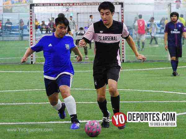 Nacional contra Morelos Jr semifinal de recopa en la Liga Matehuala de Melrose Park