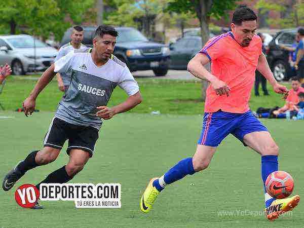 Pumas-Sauces-Liga Douglas futbol chicago douglas park