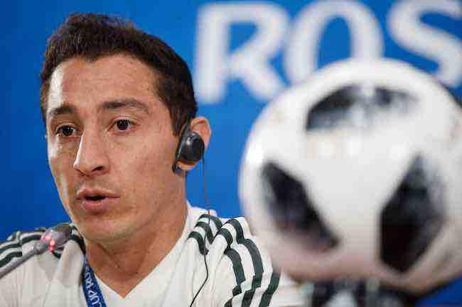 """Andrés Guardado: """"No hemos logrado absolutamente nada"""""""