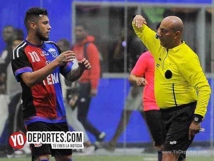 Arbitro Fernando Ibarra-Merengues-Deportivo Azteca-Liga Latinoamericana