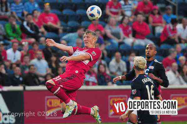Bastia Schweinsteiger-Chicago Fire-New England Revolution