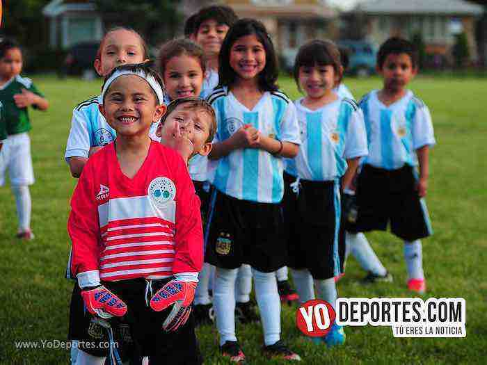 Marquette Park Kids Soccer inaugura temporada con equipos mundialistas