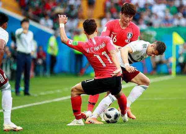 Javier Chicharito Hernandez-Mexico-Corea Mundial Rusia