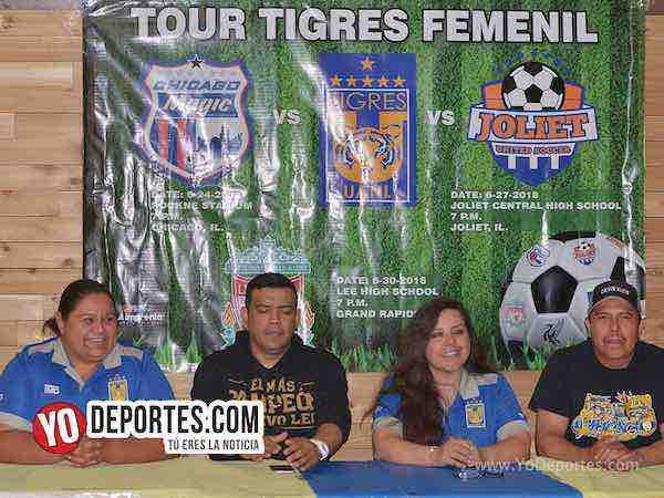 Porra Libres y Lokos Chicago-Tour Tigres Femenil UANL