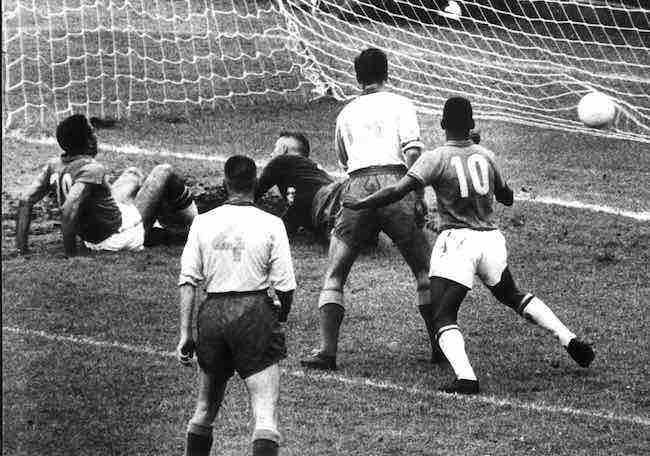 El primer gol de Pelé en un Mundial cumple 60 años