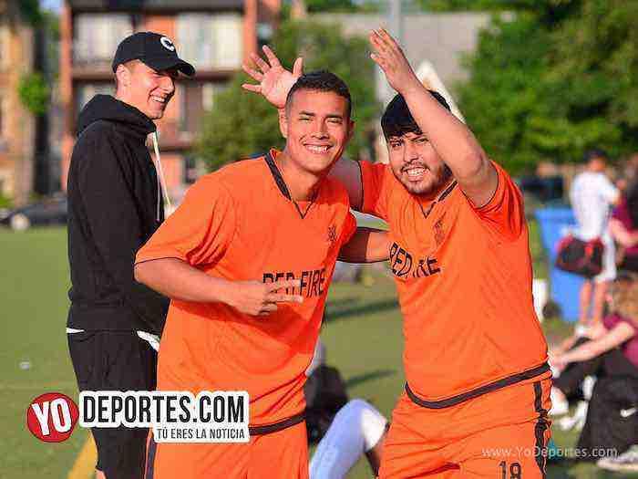 Red Fire gana duelo de invictos al Deportivo 55 y se queda solo en el liderato