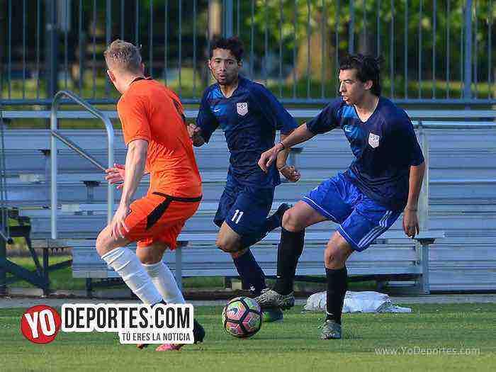 Red Fire-Deportivo 59-Liga Latinoamericana Gage Park Chicago