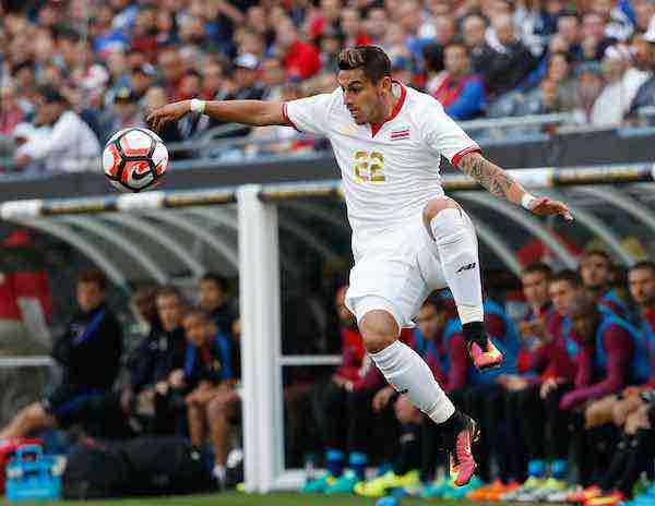 El costarricense Ronald Matarrita se pierde el Mundial de Rusia por lesión