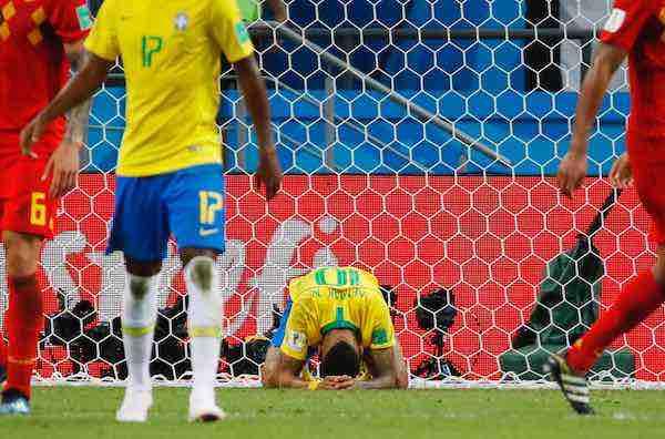 Adiós Brasil, Bélgica vuelve a una semifinal en Rusia