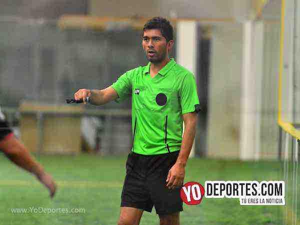 Arbitro Jorge Casas-Real Celaya-Los Aztecas-Liga San Francisco