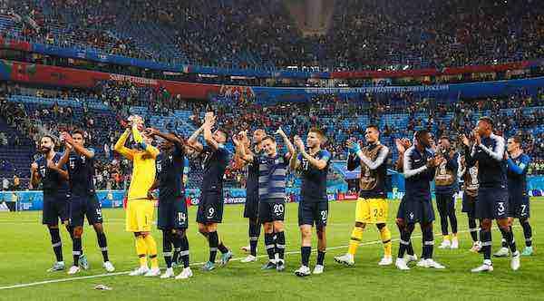 tras la que ganó a Brasil en Francia 1998 y la de Alemania 2006, cuando fue derrotada por Italia.