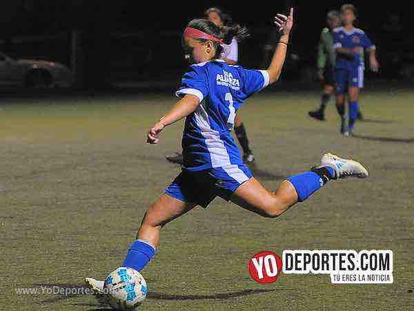La Juve golea a las Wizards 5-1 en la Women Premier Academy Soccer League