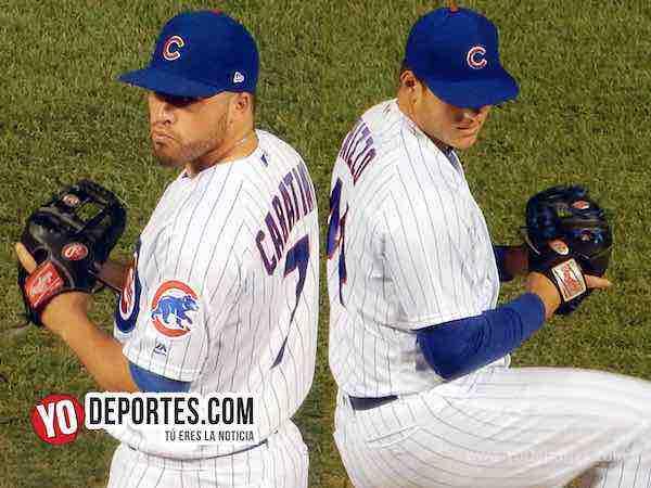 Caratini y Rizzo convertidos en relevistas de los Cachorros de Chicago