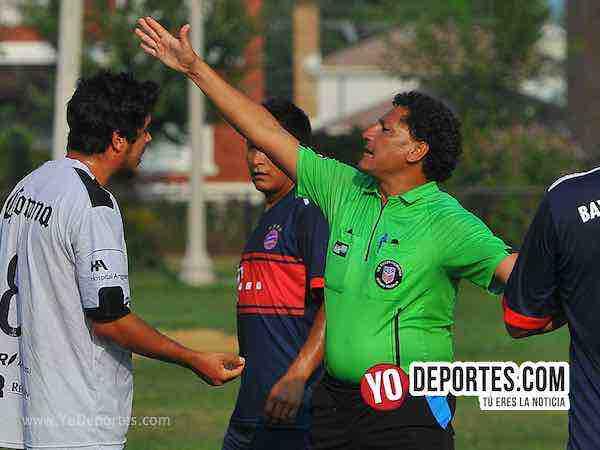 Arbitro Javier Torres-Cafetaleros-Ludoviko-Liga Victoria Ejidal