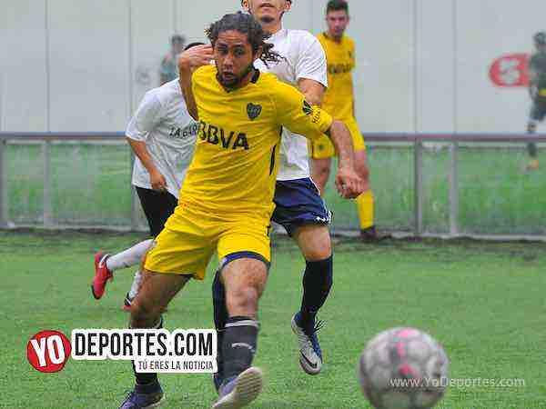 Adiós al invicto, La Garita goleado 4-0 por el Boca Jr. en la Champions de los Martes