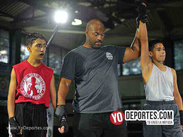 Jordan Palacios vs Xavier Martinez Chicago Harrison Park Boxing Event