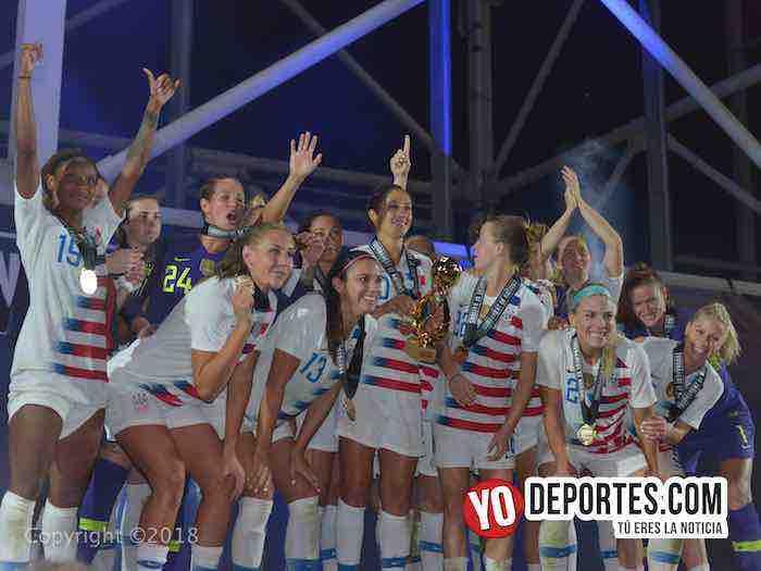 Estados Unidos golea a Brasil y se queda con el Torneo de Naciones
