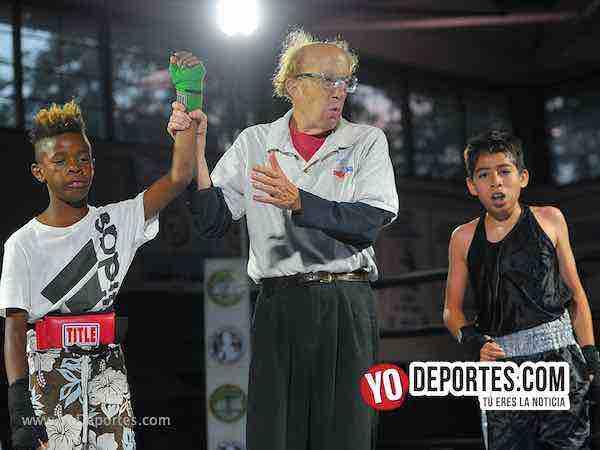 William Jordan vs Javier Cruz Harrison Park Boxing Event