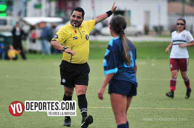 Arbitro Antonio Lopez-Blus Island-Chicago Real FC-Chicago Women Premier