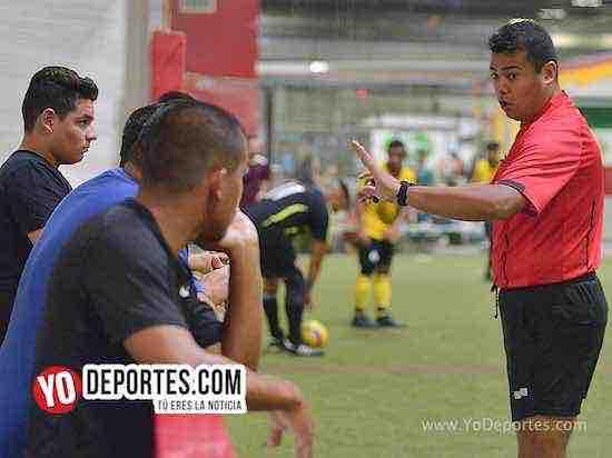 Arbitro Duardo Cruz-Leones Negros-Callejoneros-Liga 5 de Mayo