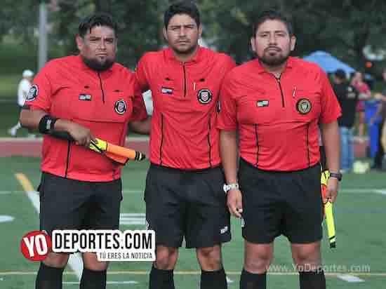Arbitro Miguel Gutierrez-Manny Duran-Gio Gonzalez-Juventus-Leon-Liga Interamericana-Veteranos