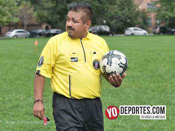 Arbitro Octavio Cuellar-Deportivo Amistad-Cicero Jaguars-Chicago Women Premier