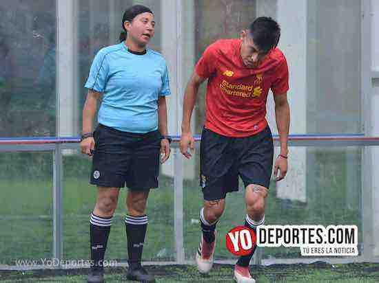 Arbitro Rosalba Luna-Southside-Boca Jr- Final COED- Liga San Francisco