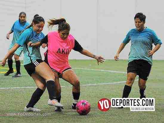 Atletico S-Las Mismas-AKD Soccer League-semifinal femenil