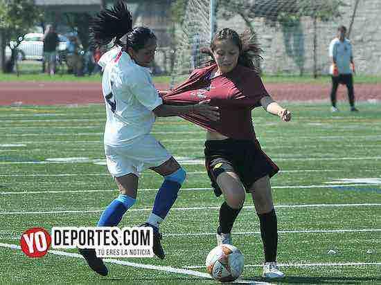 CD Vagos-FC Luna-Liga Interamericana mujeres futbol