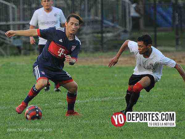 Cafetaleros-Bosque Real-Liga Victoria Ejidal veteranos en Chicago