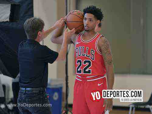Cameron Payne-Chicag Bulls Media Day