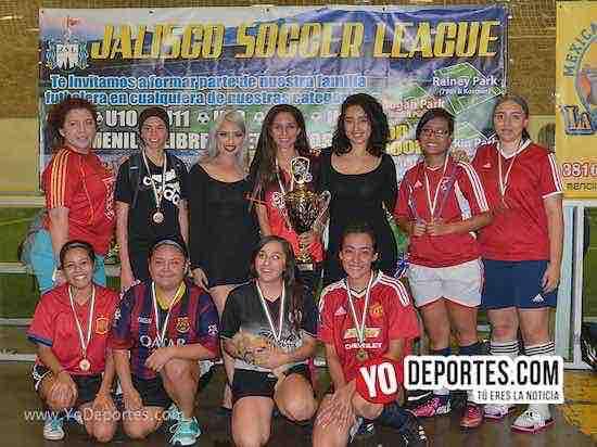Challenger-Liga Jalisco Soccer League-Final femenil
