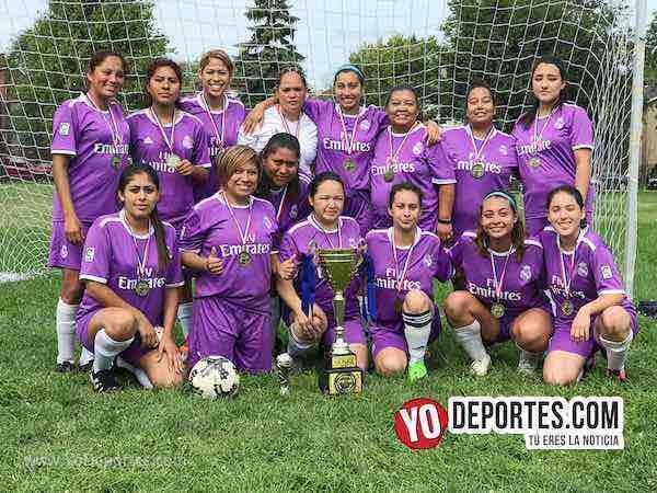Deportivo Amistad primer lugar femenil libre-Chicago Women Premier