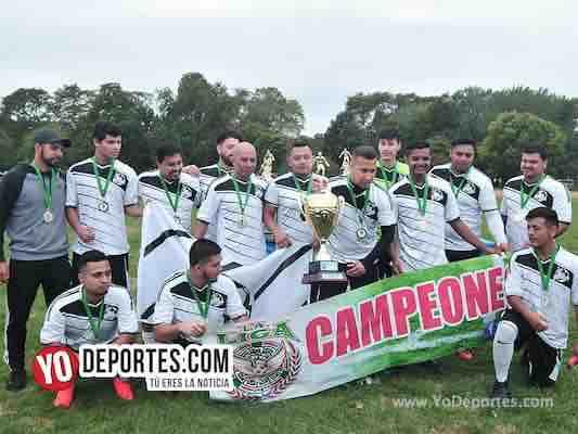 Deportivo Libertad primer campeón de la Liga Douglas