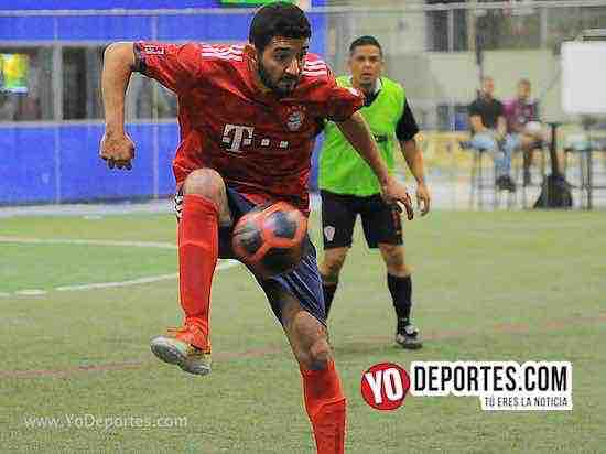 Estrella Roja-Destroyers-Liga Latinoamericana Indoor soccer league