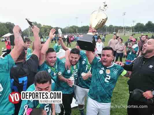 FC Maya Mil los campeones de la Primera División en Chicago