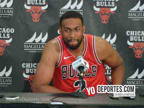 Jabari Parker-Chicago Bulls Media Day