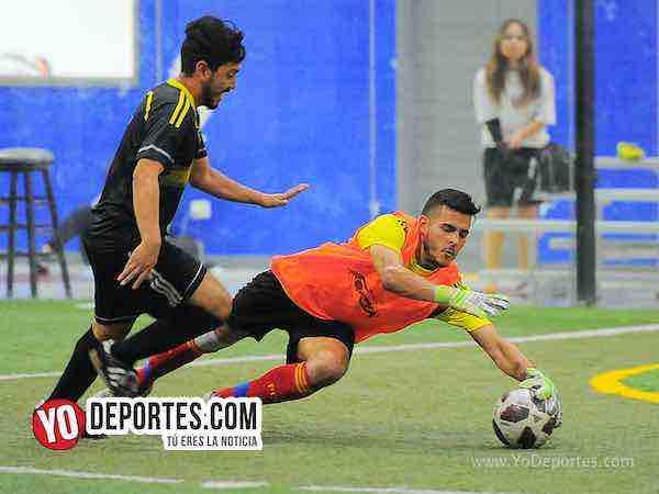 Juventus-Cafeteros-Liga Latinoamericana portero indoor soccer