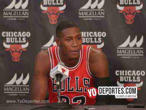 Kris Dunn-Chicago Bulls Media Day
