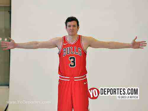 Omer Aik-Chicago Bulls Media Day