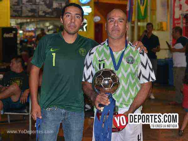 Peyote FC segundo lugar veteranos-Chitown Futbol