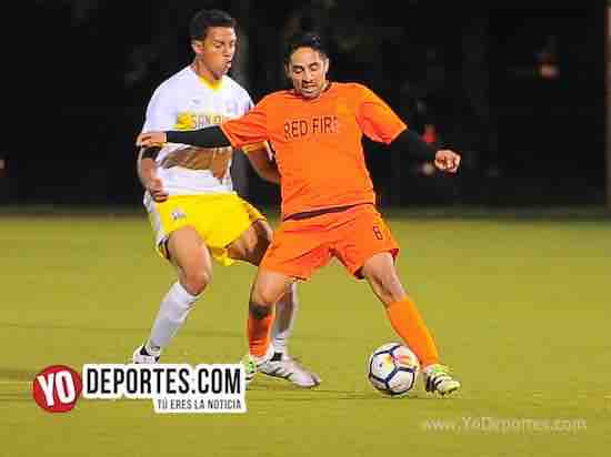 Red Fire-San Lazaro-Liga Latinoamericana futbol Chicago