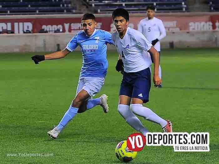 Alex Sanchez-Solorio High School-Campeones-Champions Toyota Park