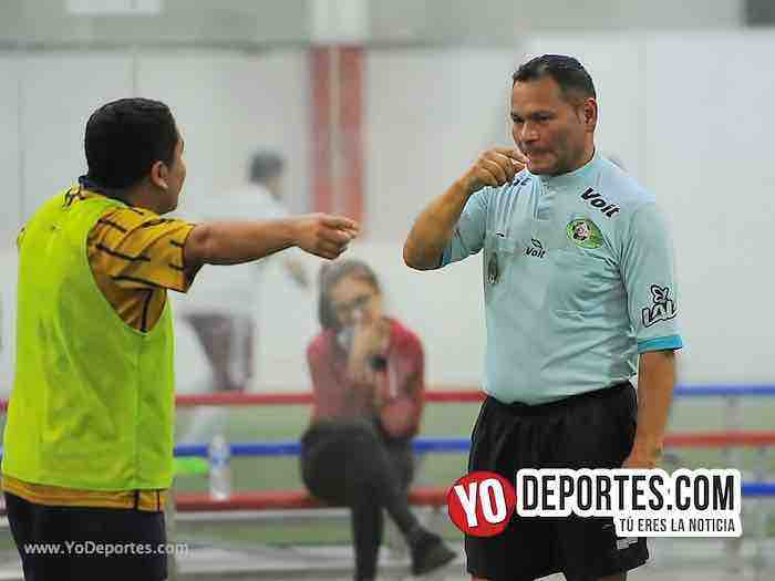 Arbitro Armando Ortega-Leones Negros-Pumas-Liga 5 de Mayo-Viernes Copa Independencia