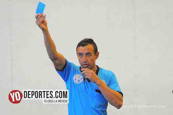 Arbitro Fernando Luna-Manchester-B y V-Liga Douglas