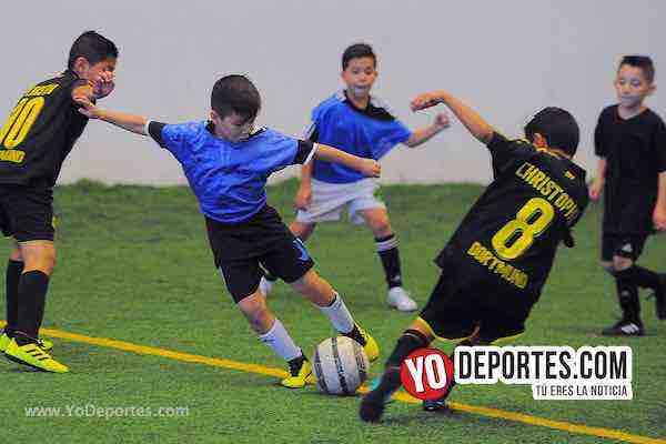 Los Ardillos se llevan goleada en la Liga Douglas Infantil